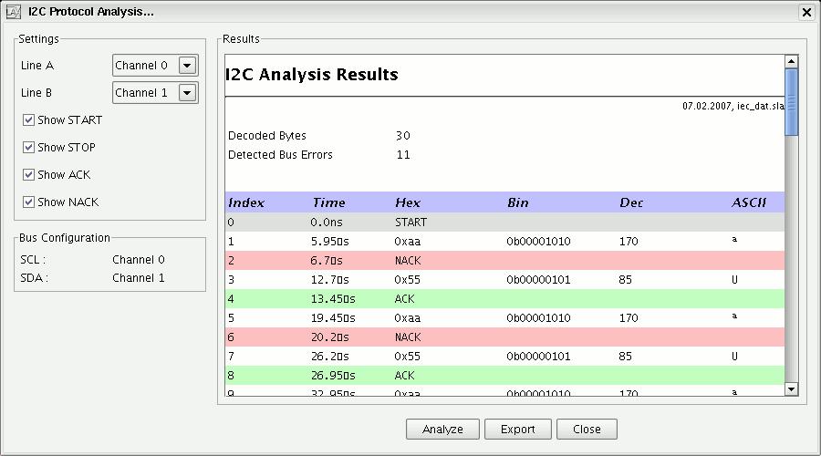 sump org: Logic Analyzer Client